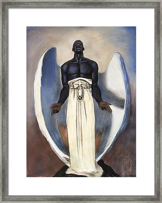 D'arc Angel Framed Print by L Cooper