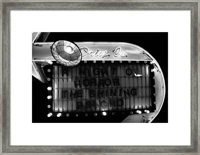 Dare To Drive In Framed Print