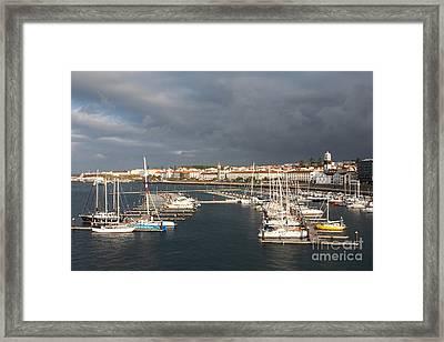 Dark Clouds Framed Print by Gaspar Avila