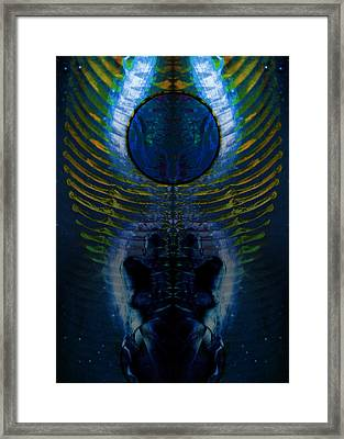 Dark Matter Twins Framed Print by David Kleinsasser