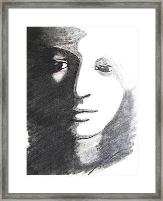 Dark N Dawn Framed Print