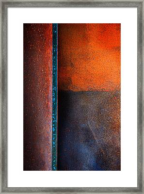 Dark Portal Framed Print