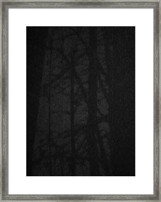 Dark Shadows Framed Print