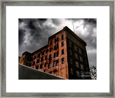 Dark Shadows  Framed Print by Tammy Cantrell