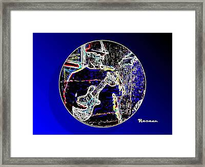 Dark Side Of The Moon Framed Print by Sadie Reneau