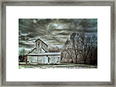 Dark Skies Framed Print by Elizabeth Wilson