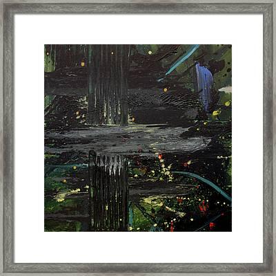 Dark Space Framed Print