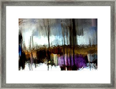 Dark Waters Framed Print