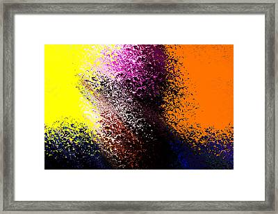 Dark Wave Framed Print
