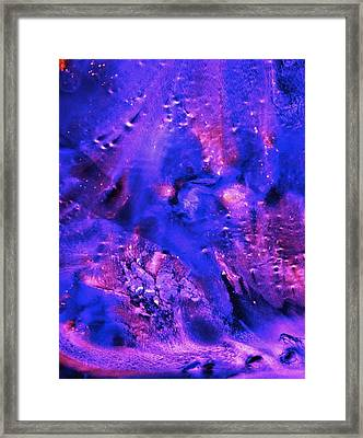 Dark Winter Framed Print by Colleen Cannon