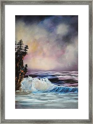 Darkening Sky Framed Print by James Higgins