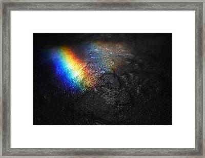 Darkside Of The Moon Framed Print by Tim Nichols