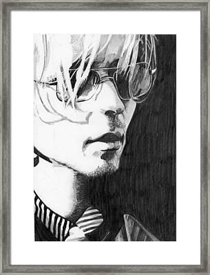 Darren Hayes Framed Print
