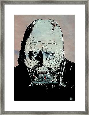 Darth Vader Anakin Skywalker Framed Print by Giuseppe Cristiano