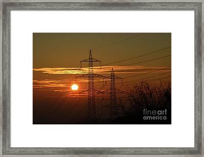 Framed Print featuring the photograph Datalavista 2 by Bruno Santoro