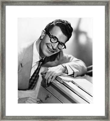 Dave Brubeck, 1950s Framed Print by Everett
