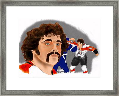 Dave Schultz- The Hammer Color Framed Print
