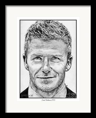Uefa Drawings Framed Prints