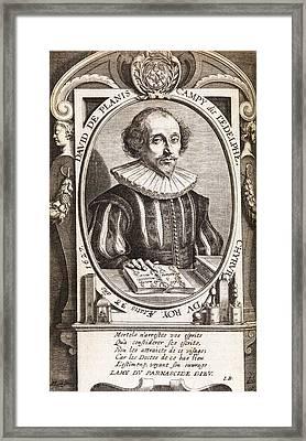David De Planis Campy, French Alchemist Framed Print