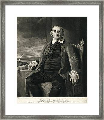 David Hartley, English Diplomat Framed Print by Humanities & Social Sciences Librarynew York Public Library