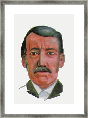 David Livingstone Framed Print by Emmanuel Baliyanga