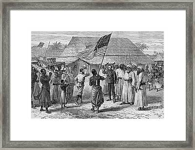 David Livingstone, Scottish Missionary Framed Print by Photo Researchers