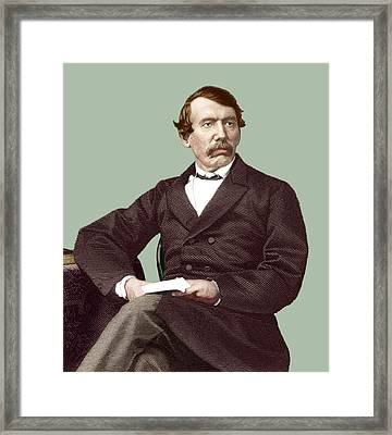 David Livingstone, Scottish Missionary Framed Print by Sheila Terry