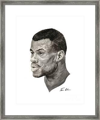 David Robinson Framed Print by Tamir Barkan
