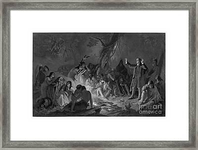 David Zeisberger Framed Print