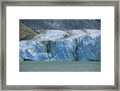 Dawes Glacier, Endicott Arm, Inside Framed Print