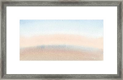 Dawn Across The Isle Of Wight Framed Print by Alan Daysh