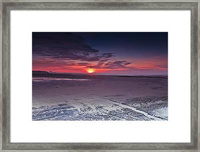 Dawn At Ardeer Framed Print by Fiona Messenger