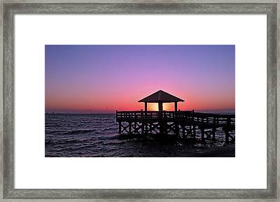 Framed Print featuring the photograph Dawn by Brian Wright