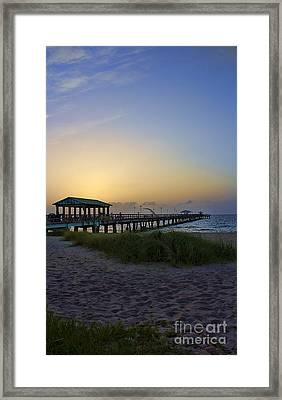 Framed Print featuring the photograph Dawn Is The Time by Anne Rodkin