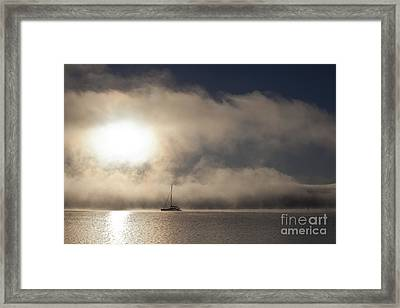 Dawn Mist Framed Print by Avalon Fine Art Photography