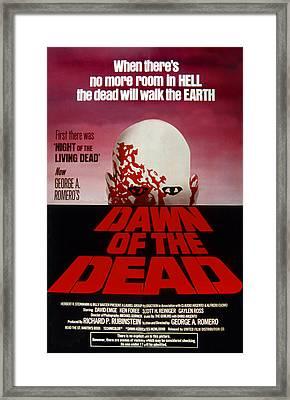 Dawn Of The Dead, 1978 Framed Print by Everett