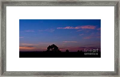 Dawn Over Dubbo Framed Print