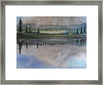 Dawn Reflections Framed Print
