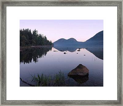 Dawn Reflections Framed Print by Stephen  Vecchiotti