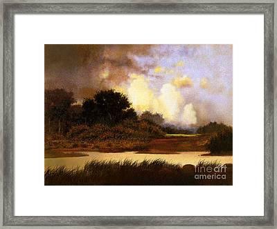 Dawn Sky Framed Print by Robert Foster
