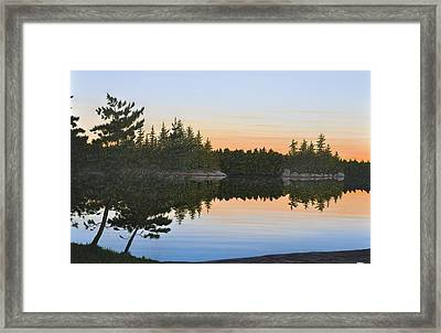Dawns Early Light Framed Print by Kenneth M  Kirsch