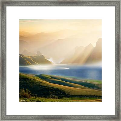Day 3 Framed Print by Lourry Legarde