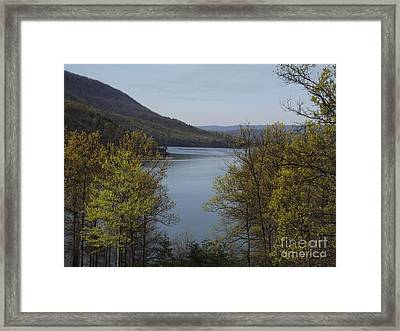 Day At The Lake Framed Print by Chad Thompson