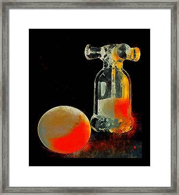 Day Break Framed Print by Greta Thorsdottir