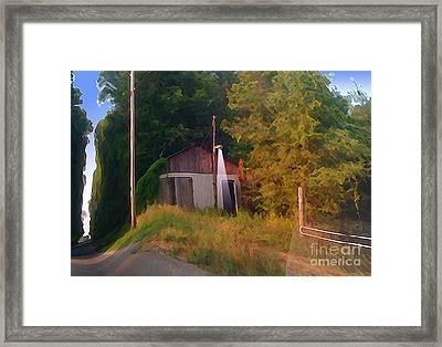 Day Break On Flint Ridge Framed Print by Charlie Spear