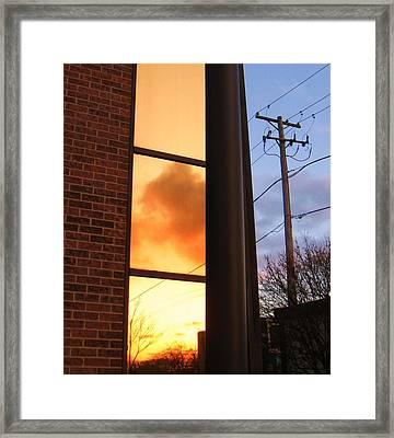 Day Chasing Night Framed Print by Todd Sherlock