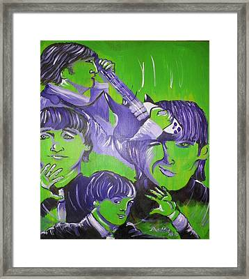 Day Tripper Framed Print by Modesto Aceves