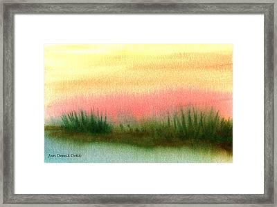 Daybreak Framed Print by Jan Deswik
