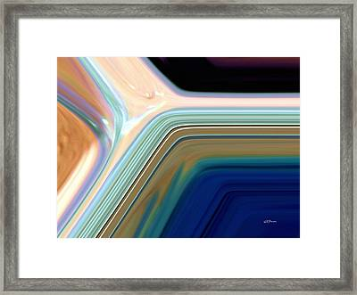 Daylight Into Blue Framed Print