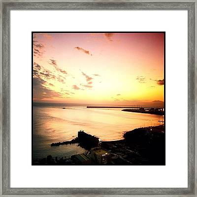 Days End #graceland25 #webstagram Framed Print by A Rey